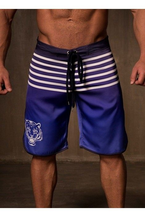 BEACH SHORTS BLUE GRADIENT