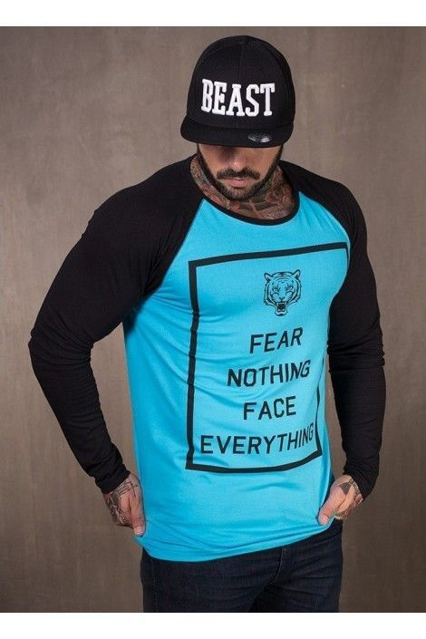 CAMISETA MANGA LARGA FEAR NOTHING