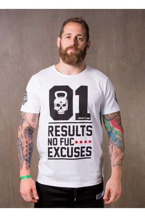 CAMISETA MANGA CORTA NO EXCUSES