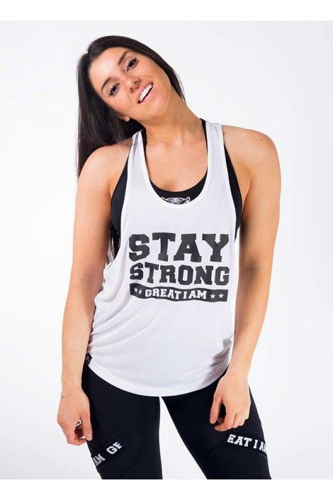 CAMISETA DE TIRANTES STAY STRONG