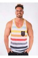Camiseta Tirantes Bolsillo Colores