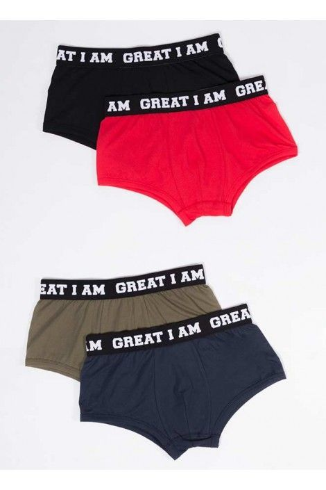 PACK BOXER COLORES