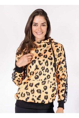 Hoodie Leopardo