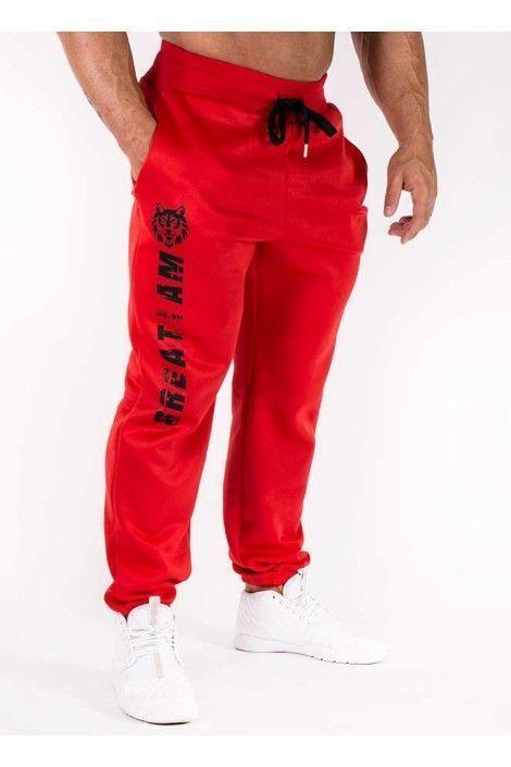 Pantalon Largo Wolf Rojo