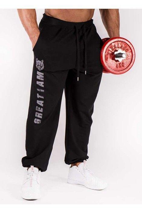 Pantalon Largo Wolf Negro