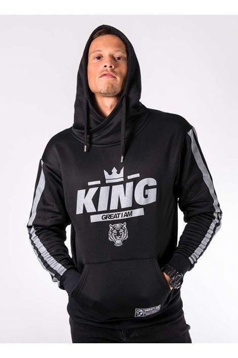 Hoodie King Silver