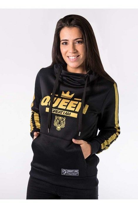 Hoodie Queen Golden
