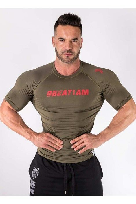 Camiseta Compresion Army