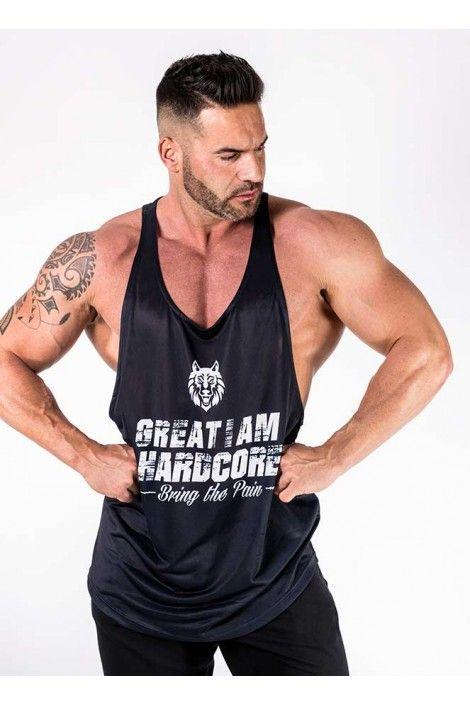 Camiseta Tirantes  Hardcore Navy