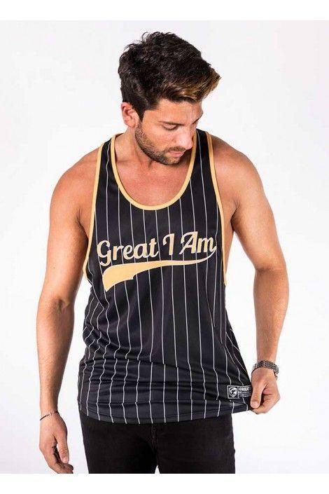 Camiseta Tirantes Classic Gold
