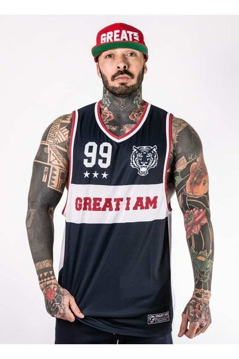 Camiseta Basket 99 Navy