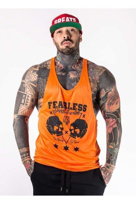 Camiseta Tirantes Fearless Neon