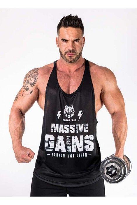 Camiseta Tirantes Massive Gains