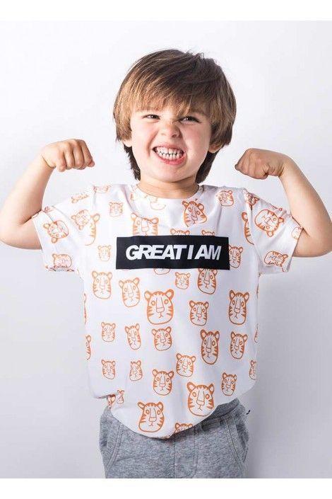 Camiseta Tiger Junior