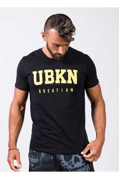 Camiseta Ubkn Logo Negro
