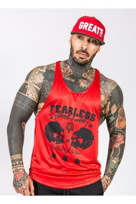 Tirantes Fearless Roja