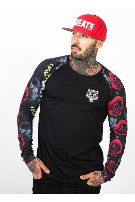 Camiseta Roses and Skulls