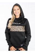 Hoodie Gia Leopard