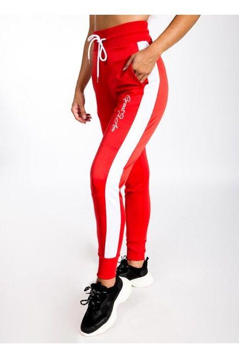 Pantalon Largo Rojo