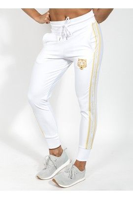 Pantalon Largo Blanco Golden