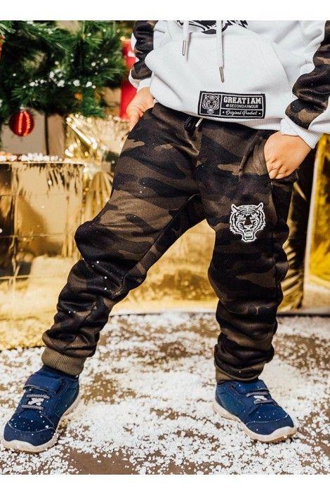 Pantalon Camuflaje Junior