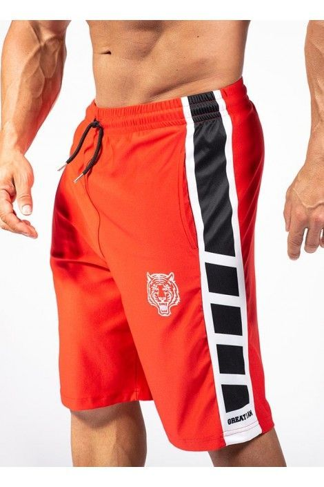 Pantalon Corto Gia Rojo