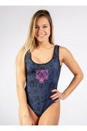 Body Leopard Azul