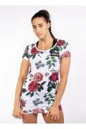 Camiseta Vestido Flower