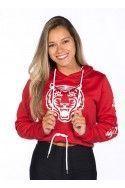 Hoodie Corta Tiger Roja