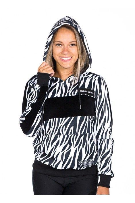 Hoodie Cebra