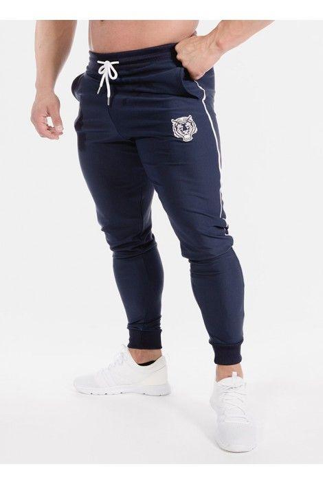 Pantalon Largo Basico Azul