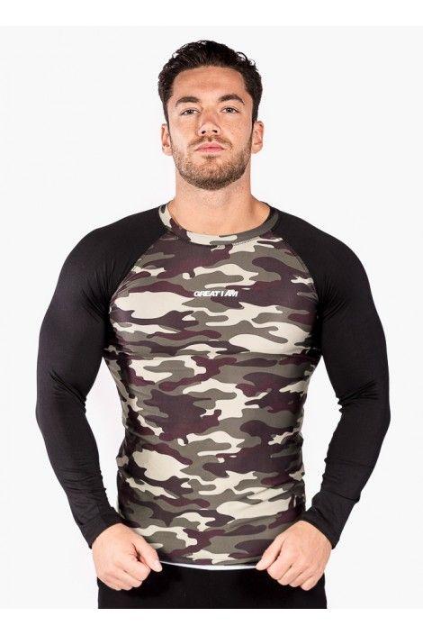 Camiseta Tecnica Camuflaje