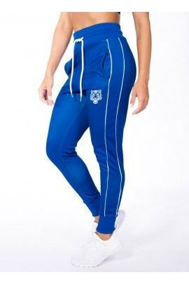 Pantalon Largo Majestic Azul