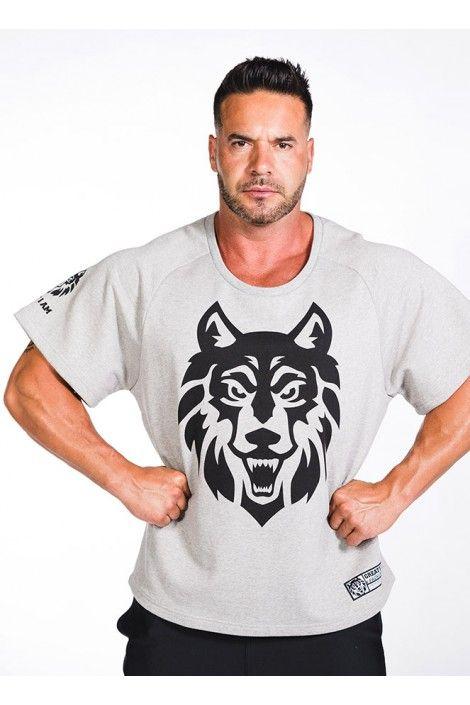 Rag Top Wolf Gris